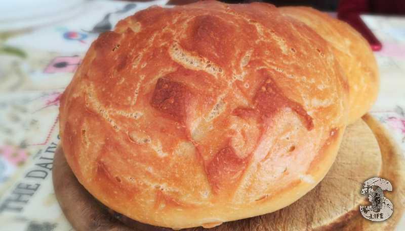 Pane tipo Sardo con semola di grano duro