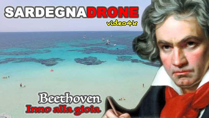 Sardegna spiagge: Putzu Idu vista dal drone sulle note di Beethoven