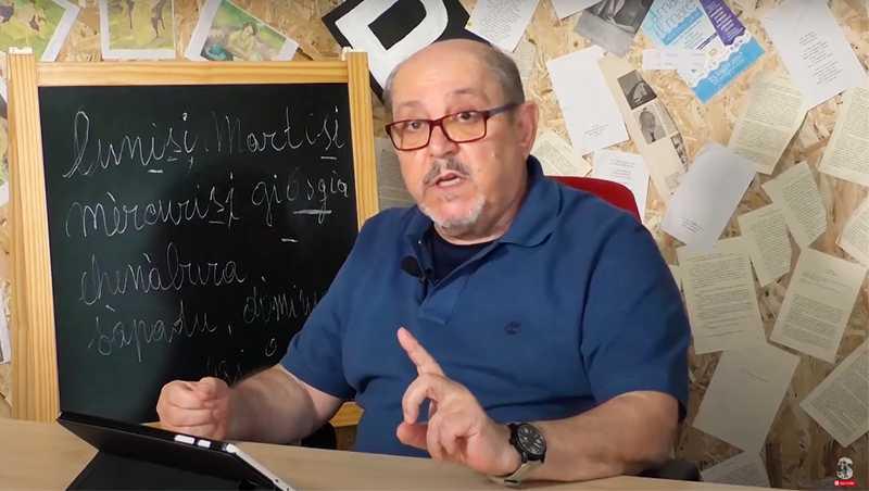 Con.NOI, lingua sarda: prima lezione con il video di Antonello Bazzu