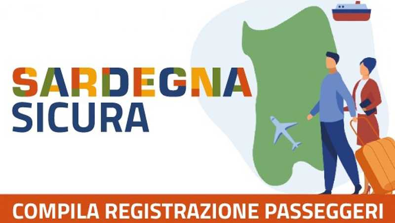 È online la registrazione per chi arriva in Sardegna, ecco il modulo da compilare