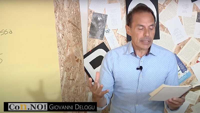 """Progetto Con.NOI: """"Tutti noi in lingua sarda"""" con Giovanni Delogu"""