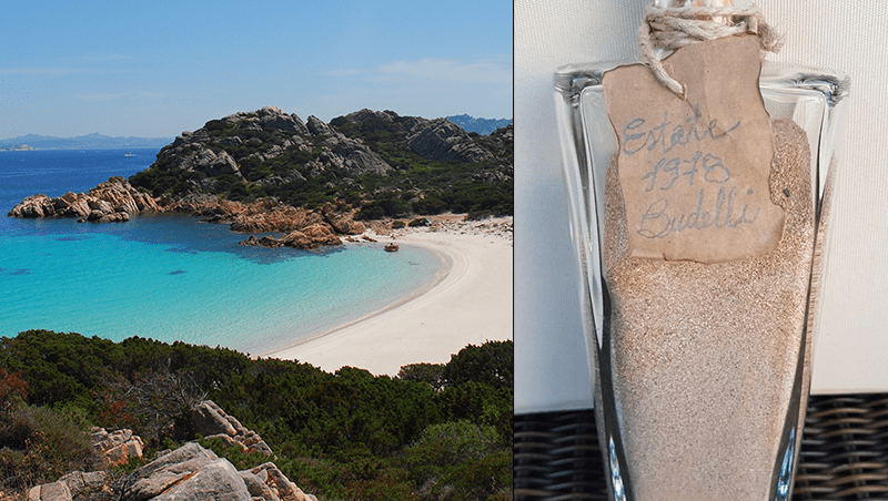 Dopo 42 anni restituisce sabbia rosa presa all'Isola di Budelli
